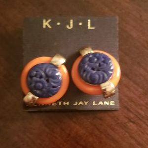 Kenneth Jay Lane Clip Ons